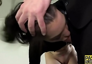 Sub tied here and throated
