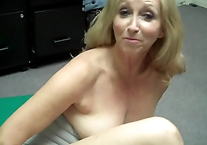 Grandma fingers personally then FREAKS OUT at Porn Casting (Behind the Scenes)
