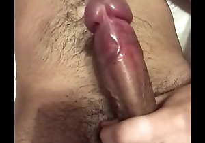 Teen with piercing jerks off until he cums
