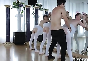 Teen fingering pussy adapt to up and boring party xxx Ballerinas