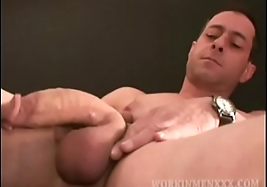 Mature Darren Stroking Cock
