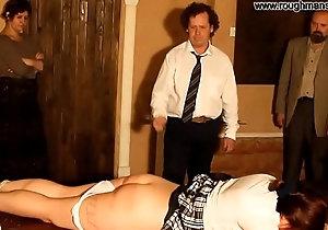 Brutally ritual of spanking 2