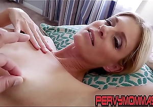 Kinky milf pov riding stepsons cock plus giving blowjob