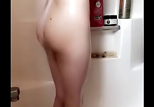 Smooth bitch in shower