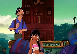 Intercourse Chapter in Disney Movie the Road to El Dorado  famous cartoons