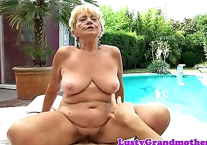 Dickriding euro granny fucked contain foreplay