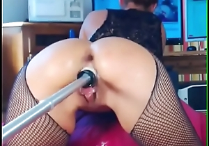 Girl comes hard with maсhine - Part 2 on getgirls.online