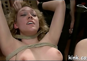 Sexy pretty girl dominated and drilled in the botheration by cruel landlord.