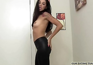 It gets me so hot watching you eat your own cum CEI