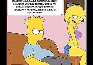 The Simpsons porn comic Marge Simpsons Bart Lisa Homer