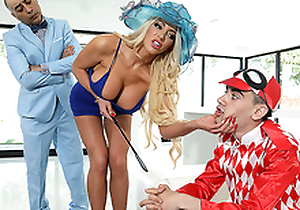 ZZ Kenfucky Derby Featuring Nicolette Shea and Jordi El Niño Polla - Real Wife Folkloric HD