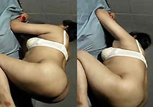 Horny Indian Wife Blowjob and boobs pressing