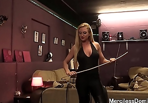 Miss Suzanna'_s Favorite Number - Painful Bastinado Session with British Goddess