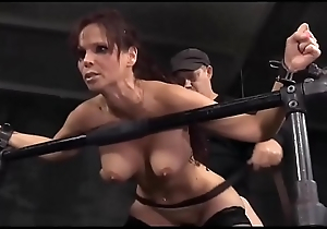 Extreme! Busty mature lady tied increased by abused by two guys!!! -Punishland.com