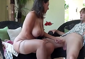 Stepmom and Stepson Affair - More in Description