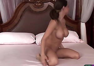 Busty sappho masseuse getting toyed